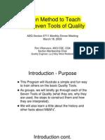 7 Basic Quality Tools