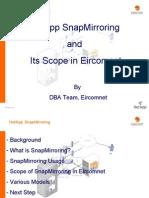 Database SanpMirroring Proposal