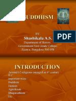 BUDDHISM by Shashikala AS
