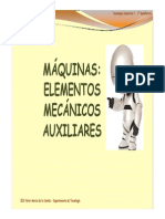 Elementos Mecanicos Auxiliares