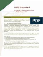 Cosmetics Organic and Natural Standard- 2010