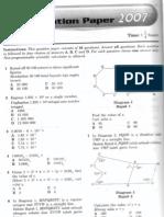 SPM 2007 Mathematics P1