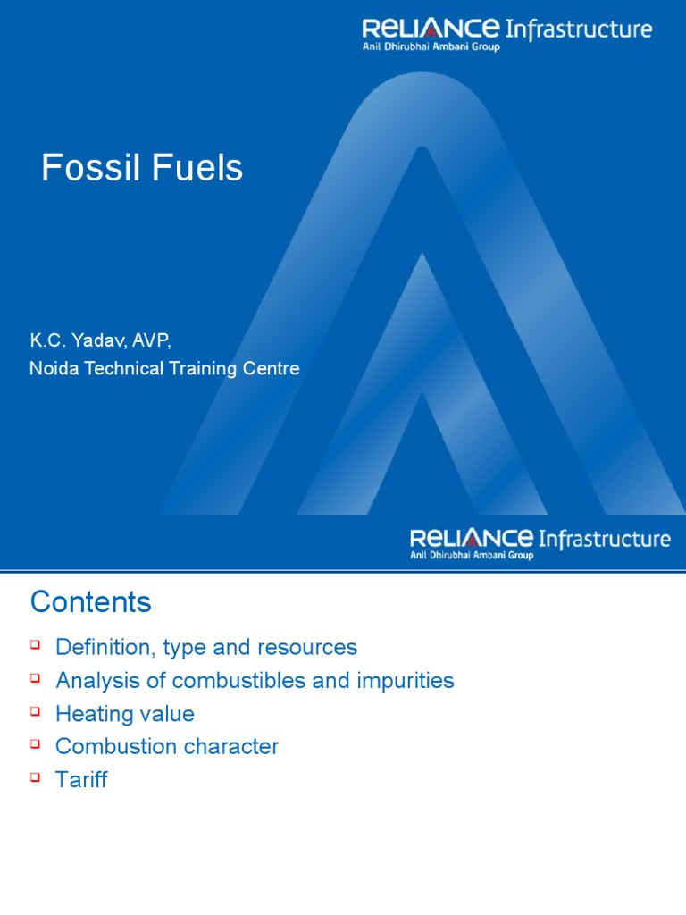 fossil fuels | combustion | fuels