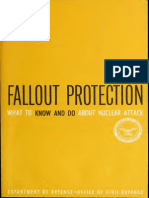 Fallout Protection, What to know and do about nuclear attack