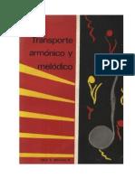 Transporte Armónico y Melódico FABIO E. MARTÍNEZ N.