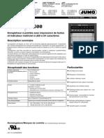 Registrador Grafico Logoprint 500 Jumo 1