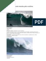 10 Ondas Temidas Pelos Surfistas