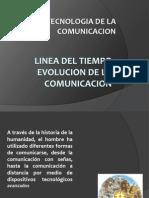 Linea Del Tiempo La Comunicacion