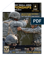 2014 All Army Small Arms Championships