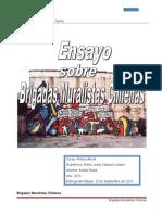 Ensayo de Brigadas Muralistas Chilenas1