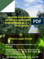 Delitos Ambientales Flora y Fauna
