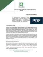 ARÉVALO RIVAS Pedro Pablo  La pericial médica en el sistema del código procesal penal