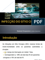 INFECÇÃO DO SÍTIO CIRÚRGICO-aula4