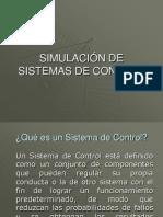 Simulacion de Sistemas de Control