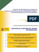 Presentacion Reforma Financiacion Autonomi