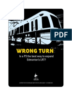 Parkland Institute's LRT Report