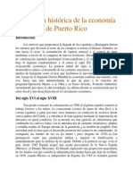 Evolución histórica de la economía de Puerto Rico