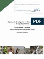 Proyecto Olmos, un caso de injusticia hídrica