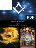 Masonic Astronomy and the Royal Arch of the Heavens