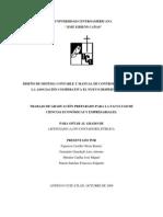 Sistema Contables y Control Interno