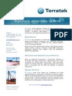 Terratek Barra Consultoria Geotecnica