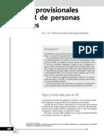 Pagos Provisionales de ISR de Personas Morales