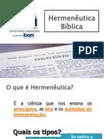 A importância da Interpretação Bíblica Consciente