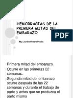 HEMORRAGIAS DE LA PRIMERA MITAD DEL EMBARAZO.pptx