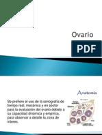 Ultrasonido en Ovario