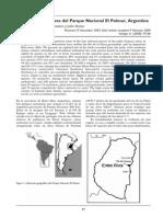 Inventario de las aves del Parque Nacional El Palmar, Argentina