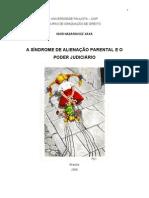 A SÍNDROME DE ALIENAÇÃO PARENTAL E O PODER JUDICIÁRIO