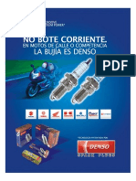 Aplicaciones Motocicleta BUJIAS DENSO
