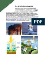 Causas Naturales Del Calentamiento Global