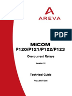 Relé MICOM P120_P121_P122_P123