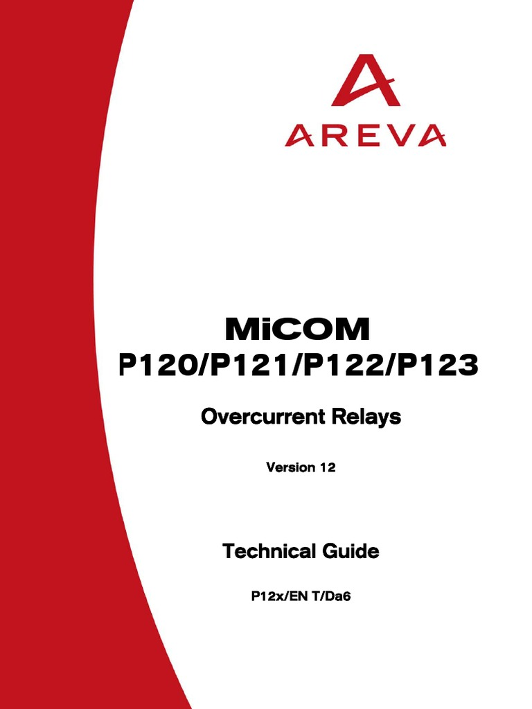 rel micom p120 p121 p122 p123 electrostatic discharge fuse rh scribd com