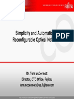 Reconfigurable Optical Networks