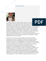 Identidad y Lengua (Ernesto Cardenal)