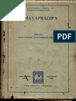 Samaya Pradipa - Ashoka Chatterji Shastri