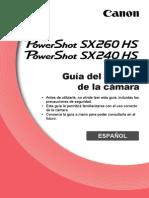 PowerShot SX260 HS and SX240 HS Guía del usuario de la cámara
