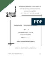 Dimerizacion y Oxidacion Indoles