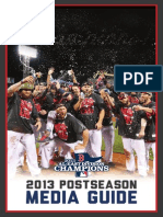 2013 Red Sox Postseason Guide