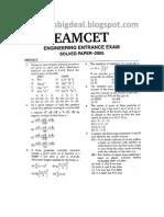 EAMCET-2005