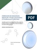 Formacion de Isoxazoles