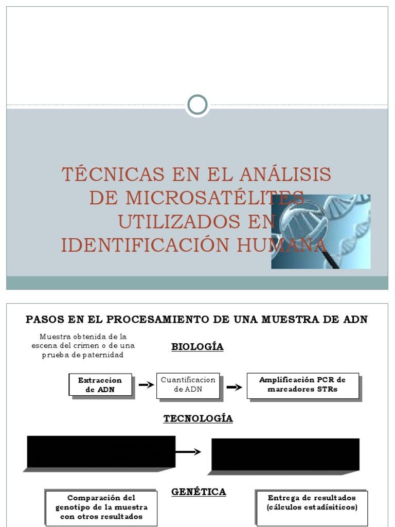 articulos sobre genetica forense en pdf gratis