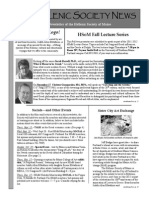 Hellenic Society News, Fall 2011