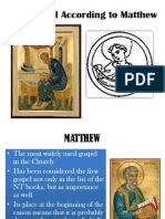The Gospel of Matthew[1]