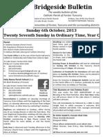2013-10-06-27th Ordinary Year C