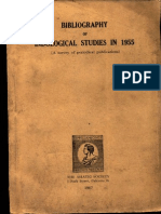 Bibliography of Indological Studies in 1955 - Asiatic Society