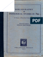 Bibliography of Indological Studies in 1956 - Asiatic Society