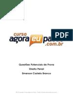 AEP_Questoes Potenciais Para a Prova_Direito Penal_Emerson Castelo Branco